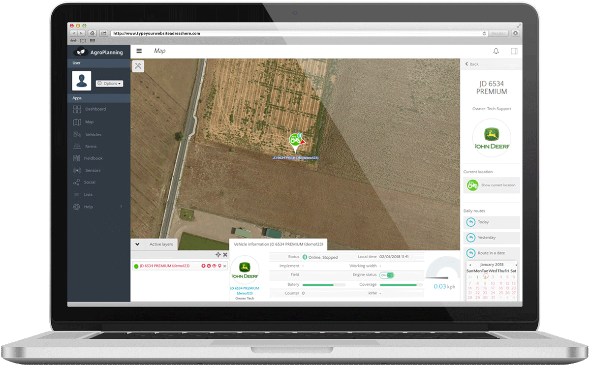 Agroplanning demo